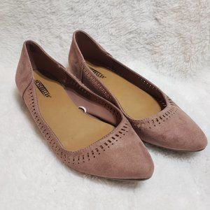 Seychelles Mauve Point Toe Flats